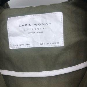 Zara Jackets & Coats - Zara Green Jacket Size small